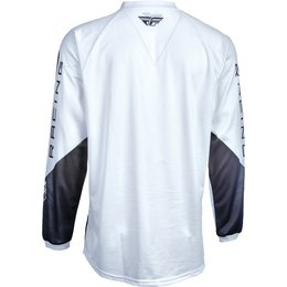 Fly Racing Mens MX Offroad Universal Jersey White