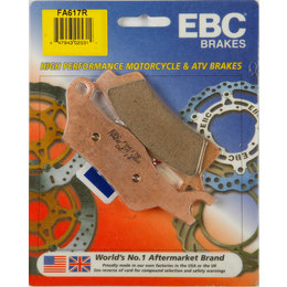EBC R-Series Sintered Front RIght ATV Brake Pads Single Set For Can-Am FA617R Unpainted