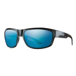 Black/blue Mirror Smith Optics Mens Dover Sunglasses With Polarized Lens 2014 Black Blue Mirror