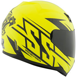 Speed & Strength SS700 Hammer Down Full Face Helmet Yellow