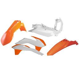 Acerbis Plastic Kit For Kawasaki Original 2314314891 Orange