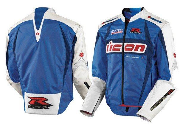 $306.00 Icon Arc Suzuki Textile Jacket #49493