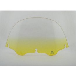 Memphis Shades 9 Windshield Yellow For Harley Davidson FLHT FLHTC FLHX