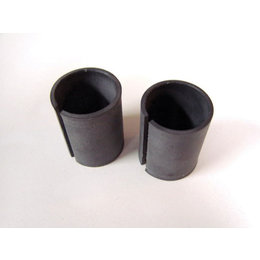Joker Machine Adapter Sleeves For Hand Controls For 1 In Bars Pair Black H-D Tri