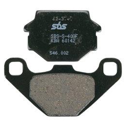 SBS Ceramic Front Brake Pads Single Set Only Kawasaki KL250 KL600 KLR250 546HF Unpainted