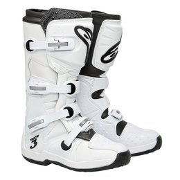 White Alpinestars Tech 3 Boots 2012 Us 6