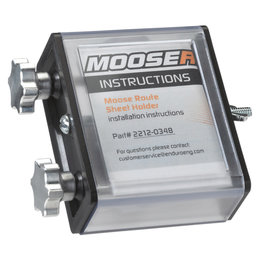 Moose Racing Route Sheet Holder Side Load Universal