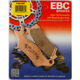 EBC R-Series Sintered Front Left ATV Brake Pads Single Set For Can-Am FA618R