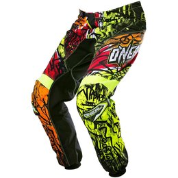 Oneal Mens Element Vandal Motocross MX Textile Pants Black