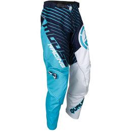 Moose Racing Mens Qualifier MX Motocross Pants Blue