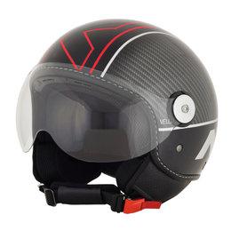 AFX FX-33 FX33 Veloce Open Face Scooter Helmet Black