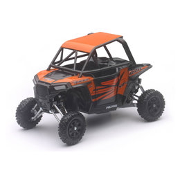 New Ray Toys 1:18 Scale Polaris RZR XP 1000 ATV Toy Orange Madness 57823 Orange