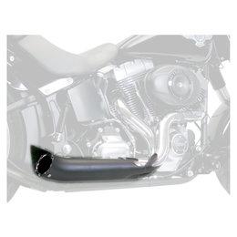 Supertrapp Phantom II Exhaust System Black For Harley-Davidson FLST FXST