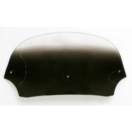 Memphis Shades Batwing 7 Inch Windshield Black