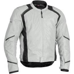 Silver Firstgear Mesh Tex Textile Jacket Tall