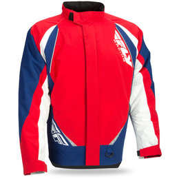 Fly Racing Aurora Snow Jacket Red