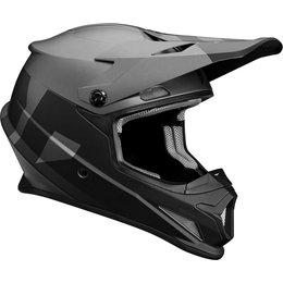 Thor Sector Level DOT Approved MX Motocross Riding Helmet With Visor Black