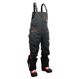 Black Hmk Mens Cascade Textile Bib Snow Pants