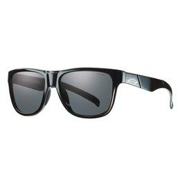 Black/grey Smith Optics Mens Lowdown Slim Sunglasses With Polarized Lens 2014 Black Grey