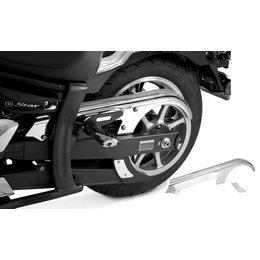 Chrome Show Belt Cover For Yamaha V-star 950 1300