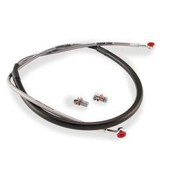 Stainless Steel/black Goodridge Extreme Brake Line Kit Front For Honda Crf230l 08-09