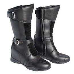 Black Joe Rocket Womens Heartbreaker Leather Boots 2013 Us 8