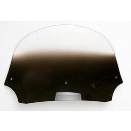 Memphis Shades Batwing 9 Inch Windshield Black