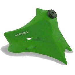 Acerbis 3.7 Gallon Gas Tank Green For Kawasaki KLX250/300 93-08
