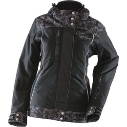Black Divas Womens Lace Collection Textile Snow Jacket 2014 1xl