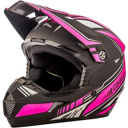 GMAX Youth Girls MX46 Uncle Offroad Helmet Black