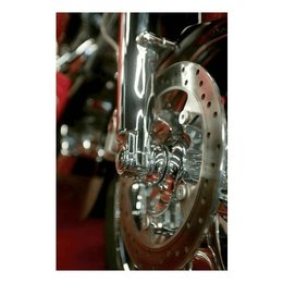 Chrome Klock Werks Lower Fork Leg Axle Cap For Harley Davidson Fl 00-10