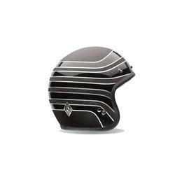 Bell Powersports Custom 500 Carbon RSD Talladega Open Face Helmet Black