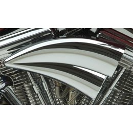 Chrome Arlen Ness Double Barrel Air Filter Kit For Harley Davidson 1991-2012