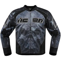 Icon Mens Overlord Reaver Textile Jacket Black