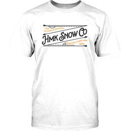 HMK Mens Stitch Crew Neck T-Shirt White
