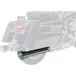 Supertrapp Megashots Exhaust System 2:1:2 Black For Harley-Davidson FLHR/T/X