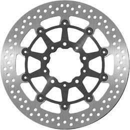 Bikemaster Front Brake Rotor For Kawasaki Billet Aluminum 1213 Unpainted