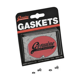 James Gaskets Fork Drain Chrome Button Head Screw Kit For Harley JGI-45790-80-BH Unpainted