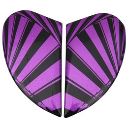 Purple Icon Replacement Side Plate Kit For Womens Airmada Spaztyk Full Helmet