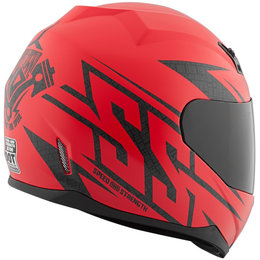 Speed & Strength SS700 Hammer Down Full Face Helmet Red