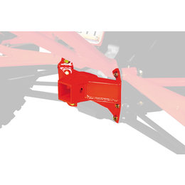 Dragonfire Racing Heavy Duty Rear Receiver Hitch For Can-Am Maverick 1000 Red Red