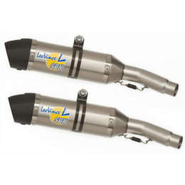 Leo Vince Standard-Mount LV One E-Approved Evo II Slip-On Exhaust For KTM 8414 Unpainted