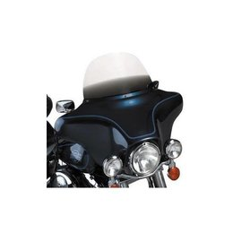 Memphis Shades 12 Windshield Black For Harley Davidson FLHT FLHTC FLHX