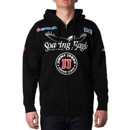Fox Racing Mens RCH Team Replica Zip Motocross Hoody Sweatshirt Black