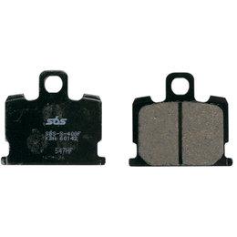SBS Ceramic Front Brake Pads Single Set Only Yamaha 547HF Unpainted