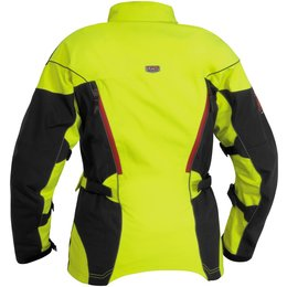 Day Glo Yellow, Black Firstgear Womens Tpg Monarch Textile Jacket 2014 Day Glo Yellow Black