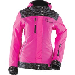 Pink Divas Womens Lace Collection Textile Snow Jacket 2014