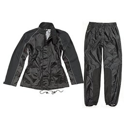 Black Joe Rocket Womens Rs-2 Two Piece Rain Suit 2013