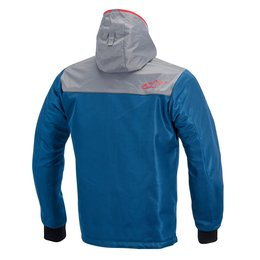 Blue Alpinestars Mens Runner Air Hooded Textile Jacket 2015