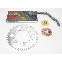 RK Chain/Sprocket Kit 520 GXW For Yamaha YZF-R1 98-03